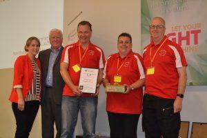 "CDG awarded the ""Don't Panic Captain Mainwaring"" award"