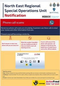 Action Fraud – Phone Scams