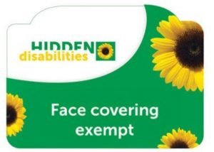 The Hidden Disabilities Sunflower – for when you need  assistance.